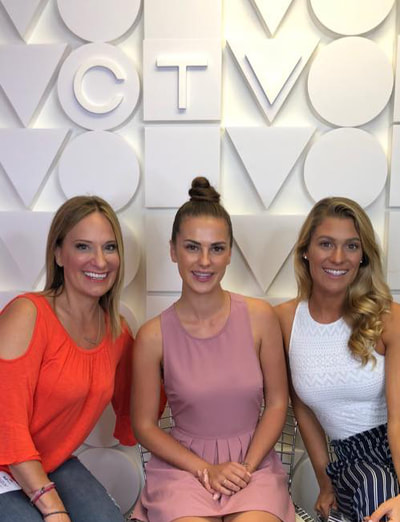 Jennifer Ettinger interviews cast members of Amazing Race Canada Heroes Edition for CTV_PR